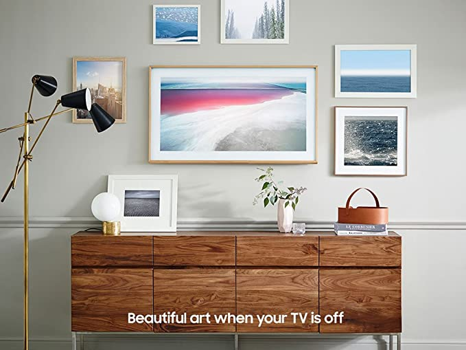 Amazon Com Samsung Un43ls003afxza Flat K Uhd The Frame Smarttv 2017 Electronics