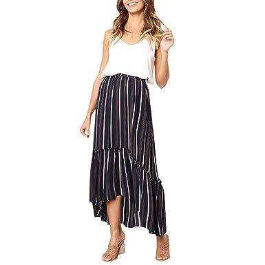 Sulifor Falda de Mujer Gypsy Largo Jersey, Falda Bonita y Elegante ...