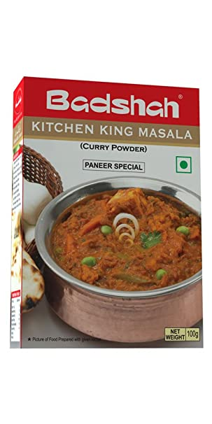 badshah masala kitchen king masala 100 gm - Masala Kitchen