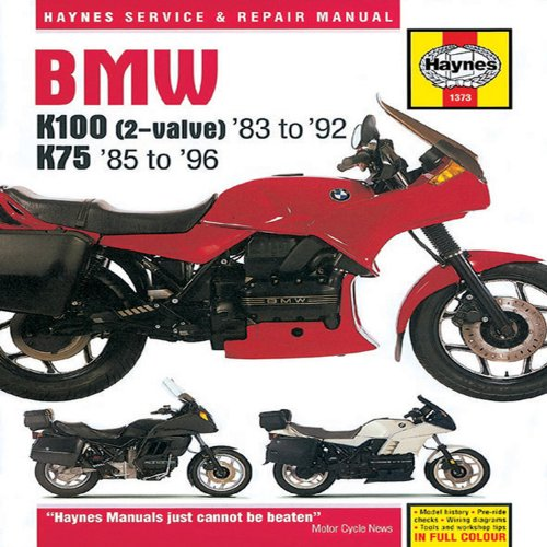 BMW K100 (2-valve) '83 to '92 & K75 '85 to '96 Service and Repair Mainual ()