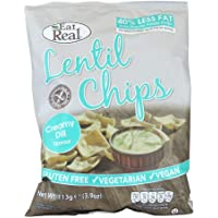 Eat Real Creamy Dil Flavour Lentil Chips - 113 gm