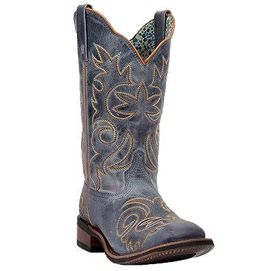b30e7d1165b4a1 Laredo Women s Eva Vintage Stockman Boot Square Toe (6 B(M) US)