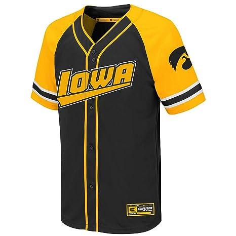 new styles 2656e 8842b Amazon.com : Colosseum Youth Iowa Hawkeyes Wallis Baseball ...