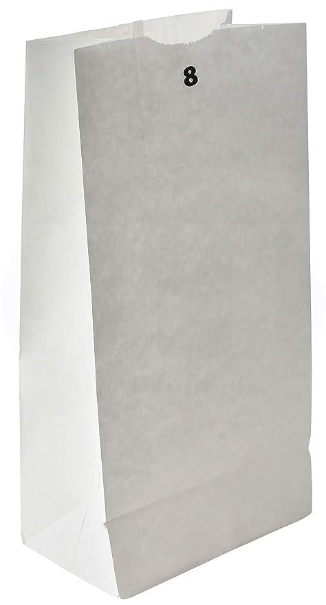 Amazon.com: Bolsa de comestibles/almuerzo, papel kraft ...