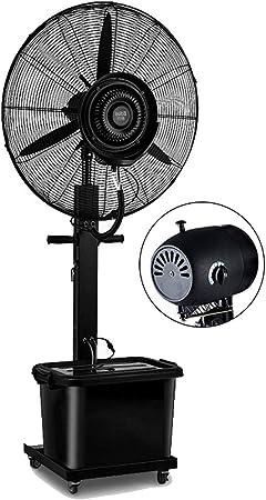 Ventilador de Piso Torre de nebulización oscilante oscilante con ...