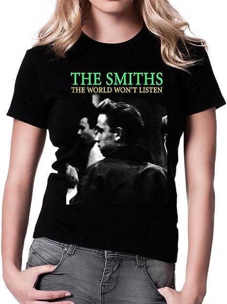 The SMITHS T Shirt Morrissey Reine est mort à manches longues unisexe toutes tailles