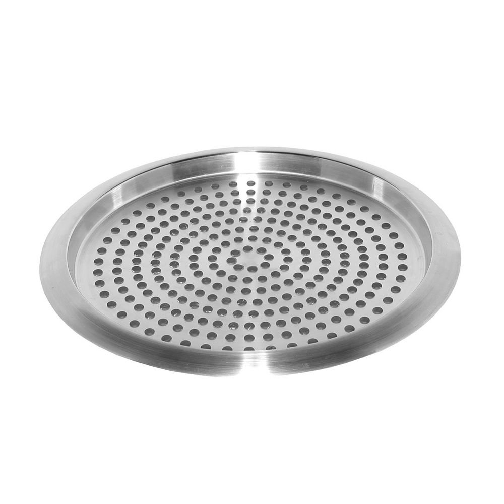 Service Ideas TR1412 Tray, 18/8 Stainless Steel, Stackable, 14'' x 12''