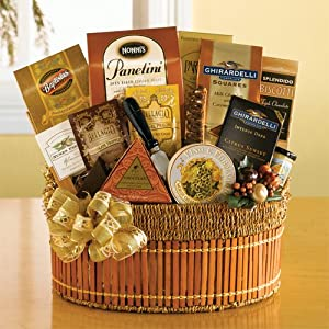 California Gold Gourmet Gift Basket By California Delicious