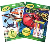 Best Hot Wheels Book For 3 Year Old Boys - Crayola Activity and Coloring Books with Markers 2 Review