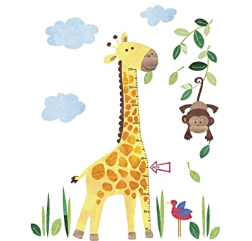 Superior JoJo Maman Bébé Wall Sticker Growth Chart Giraffe Part 18