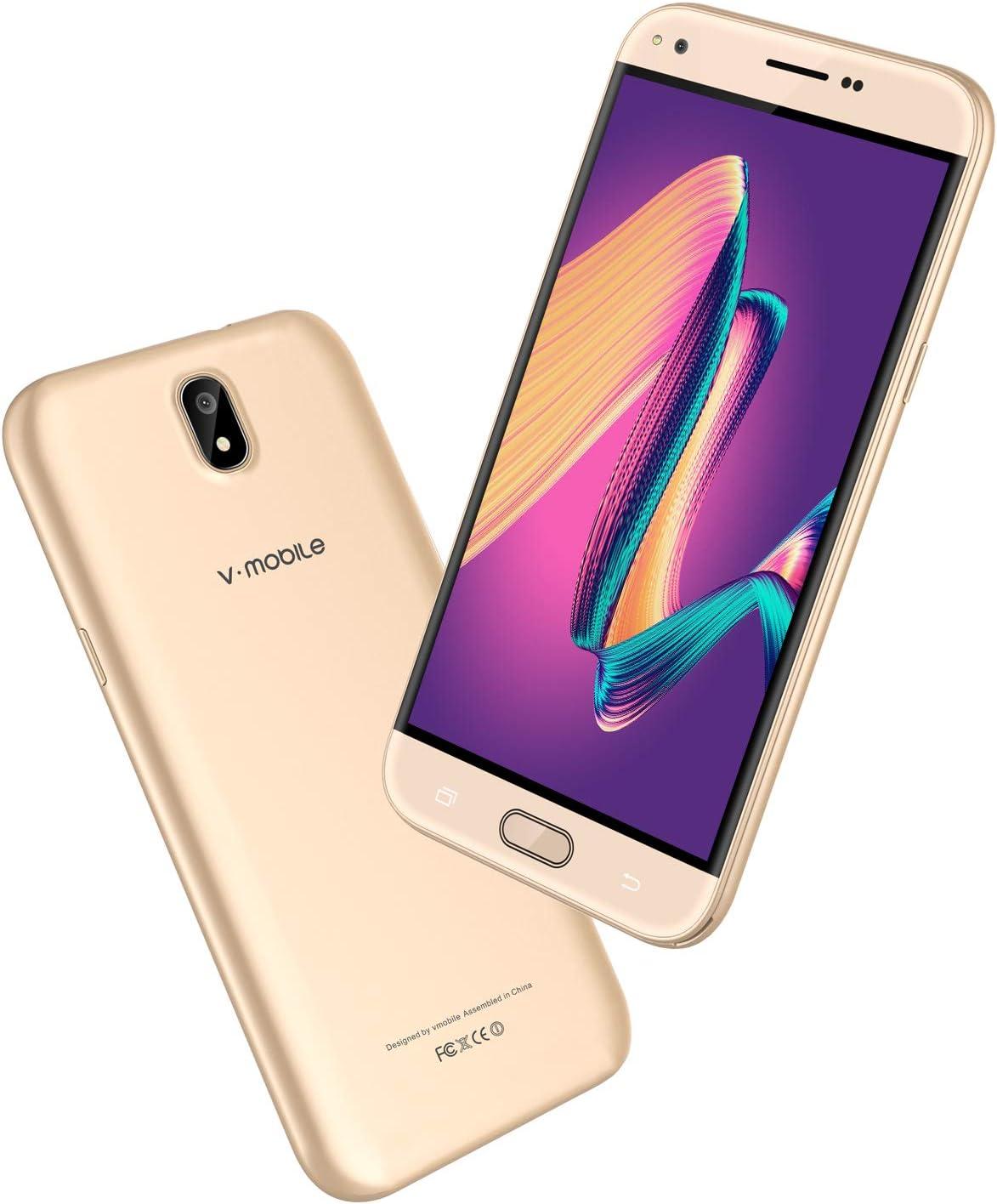 Moviles Libres Baratos v·mobile J5 Telefono 4G Android 7.0 Dual ...