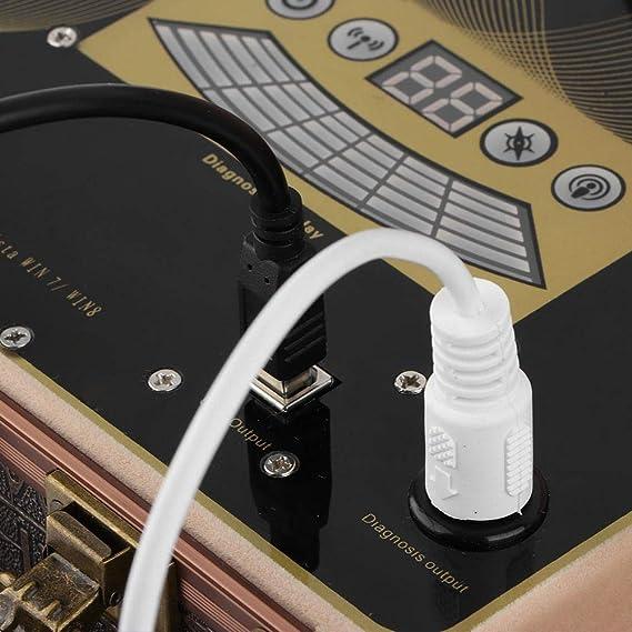 Analizador magnético de resonancia cuántica, escáner de salud de ...