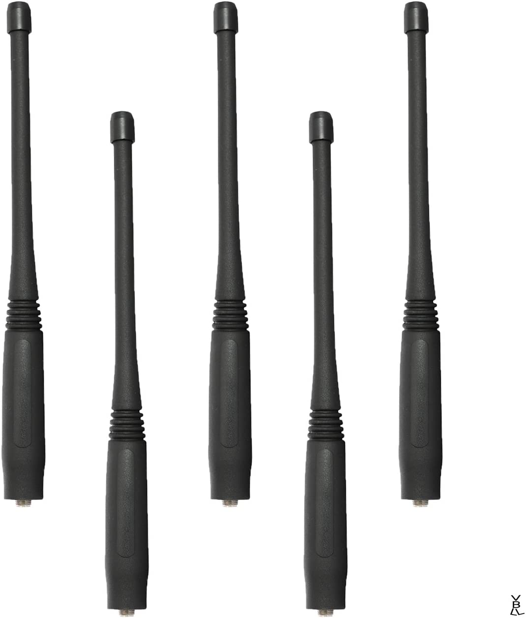 "5x UHF Stubby 3.2/"" Antenna KRA23 For Kenwood TK3312 TK3360 TK5310 Portable Radio"