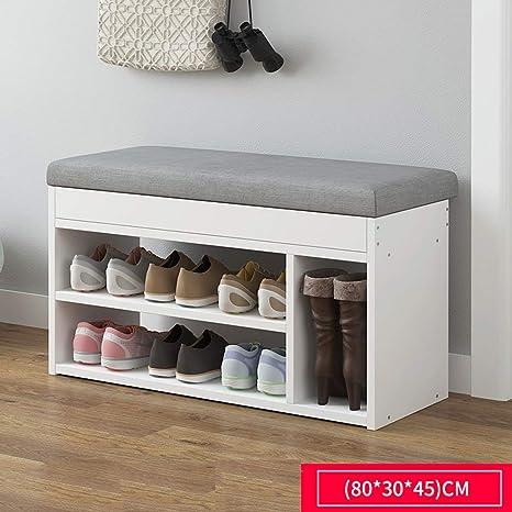 Banco de zapatos JL Casa Simple Cojín De Bolsa Suave ...