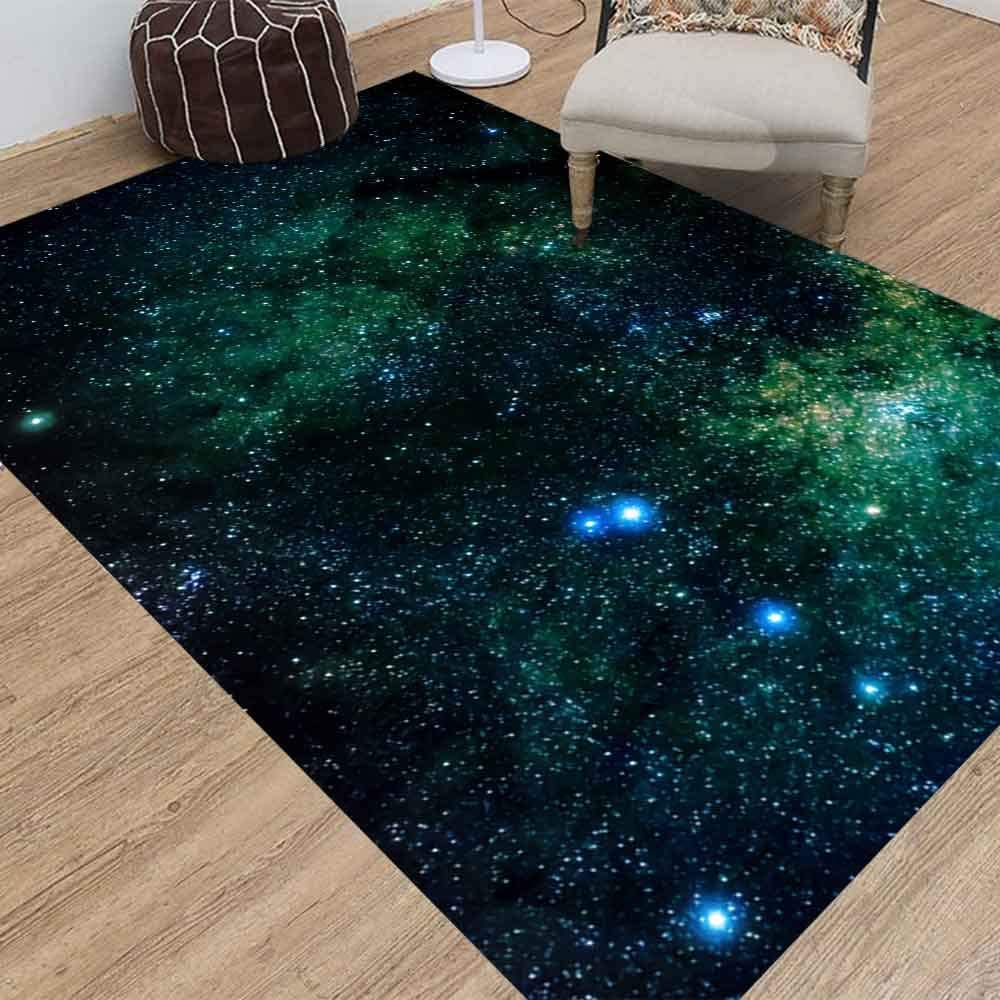 Amazon Com Doocilsh 5x7 Kids Area Rugs Outer Space Abstract Astrology Astronomy Background Black Bright Cluster Constellation Cosmic Cosmos Farmhouse Area Rug Of Indoor Outdoor Kids Boys Girls Area Rugs Use Kitchen