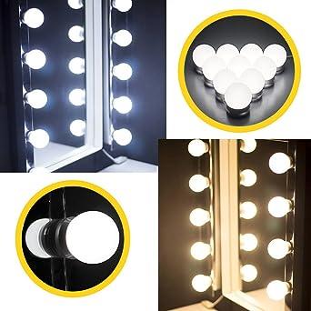 Hollywood LED Spiegelleuchte LED Spiegellampe LED Lichter mit ...