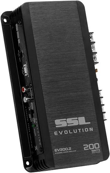 SSL EV200.2 Evolution 200-watts Full Range Class A//B 2 Channel 2-8 Ohm Stable Amplifier