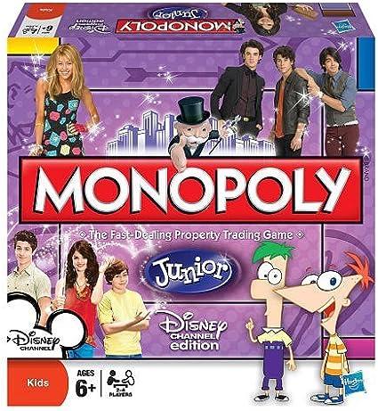 Monopoly Jr. Disney Channel: Amazon.es: Juguetes y juegos