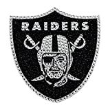 Oakland Raiders 6'' Bling Emblem