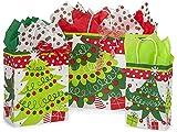 NWAMR-JCTA Jolly Christmas Trees 125 Bag Assortment, 50 Rose, 50 Cub & 25 Vogue Bags
