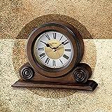 Seiko Scroll Desk & Table Alarm Clock