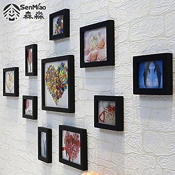 Wunderbar Bilderrahmen*10, Euro Style Massivholz Foto Wand Kleines Wohnzimmer Wand  Dekoration Wand Foto