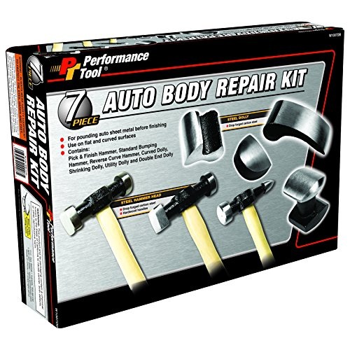 Performance Tool W1007DB 7-Piece Auto Body Repair Kit