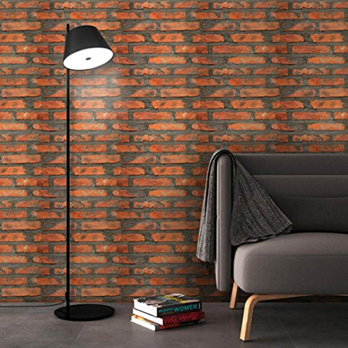 Sameno 3D Brick Wall Stickers Self-Adhesive Panel Decal Wallpaper PE Foam Soft Pack TV Sofa Background Living Room Decoration (C)