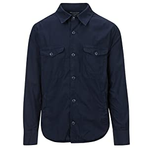 Save Khaki Men's Shirt Jacket SK848-UL Navy SZ S