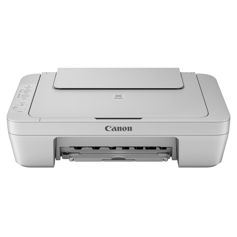 Canon Pixma Imprimante Multifonctions Jet d'encre Couleur mg3052(Imprimante, Scanner, copieur, USB, WiFi, Pixma Cloud Link) Gris