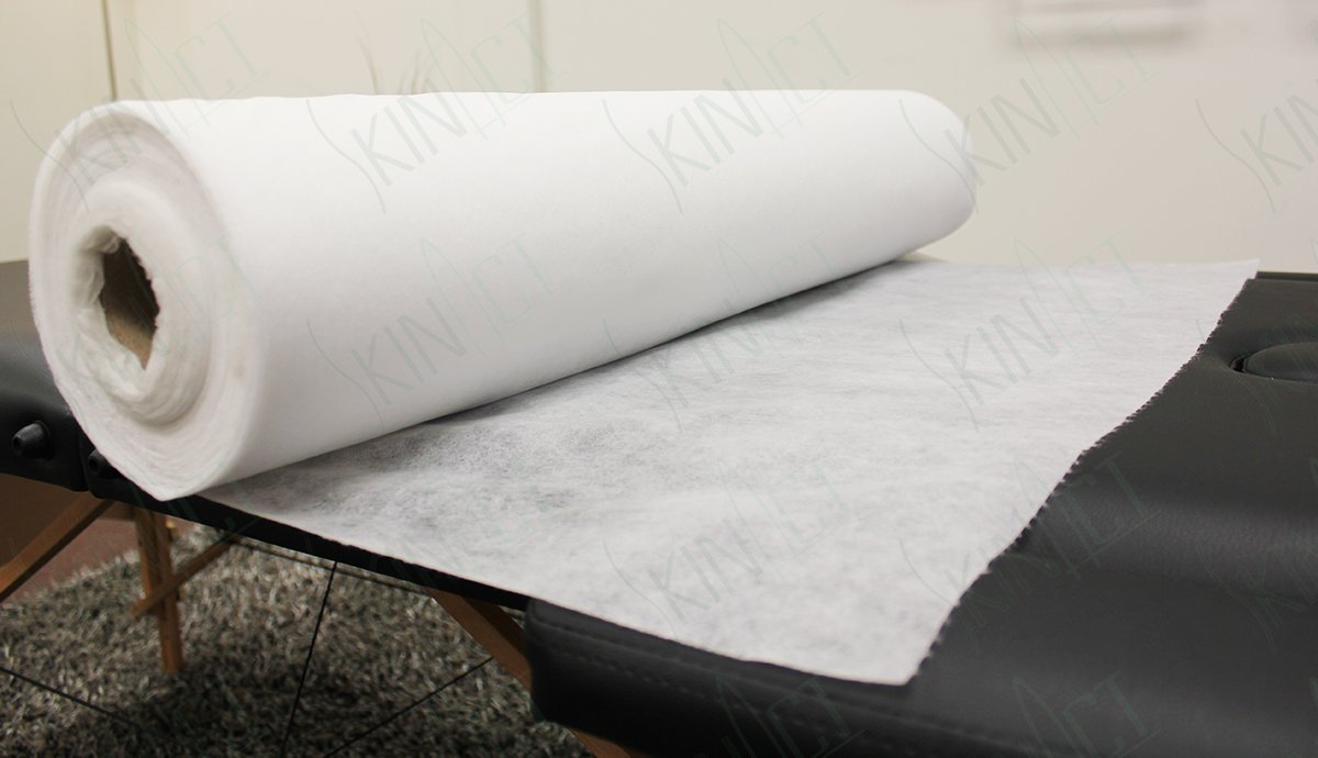 Skin Act Jumbo Size Nonwoven Disposable Bedsheet (31'' Wide X 354 Feet Long) Perforated Massage Table Sheet, Facial, Wax Chair Cover Sheet