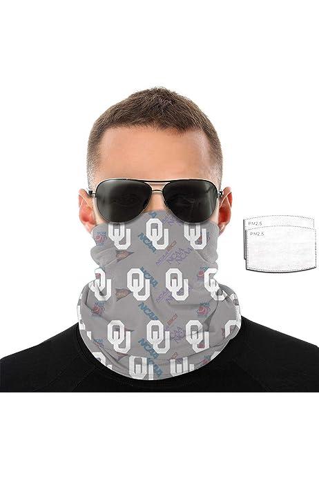 NACC Mask College Team Neck Gaiter Seamless Mask Headband Bandana With Filters
