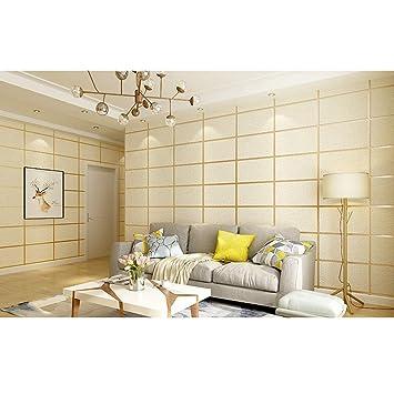 Amazon.com: 3d Shimmer - Papel pintado de ante moderno, no ...