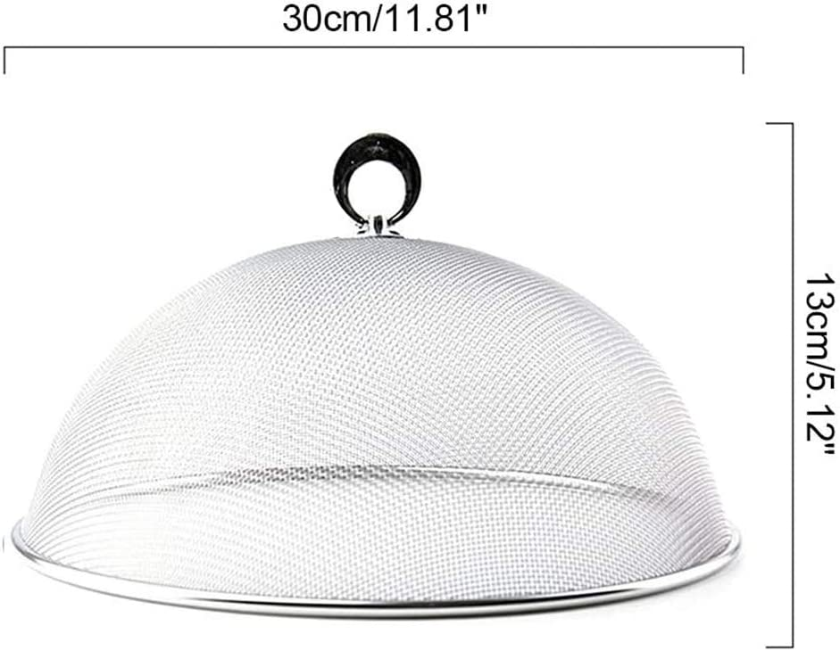 Filet Pliable Parapluie Protection Aliment Lot de 10 Cloche Alimentaire Pliante 30cm Couleur Al/éatoire 544 Les Colis Noirs LCN