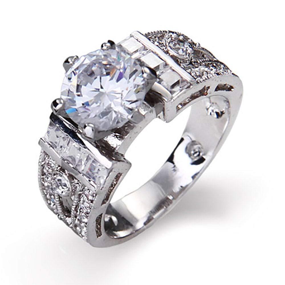 Eves Addiction 1.5 Carat High Prong Set Engagement Ring