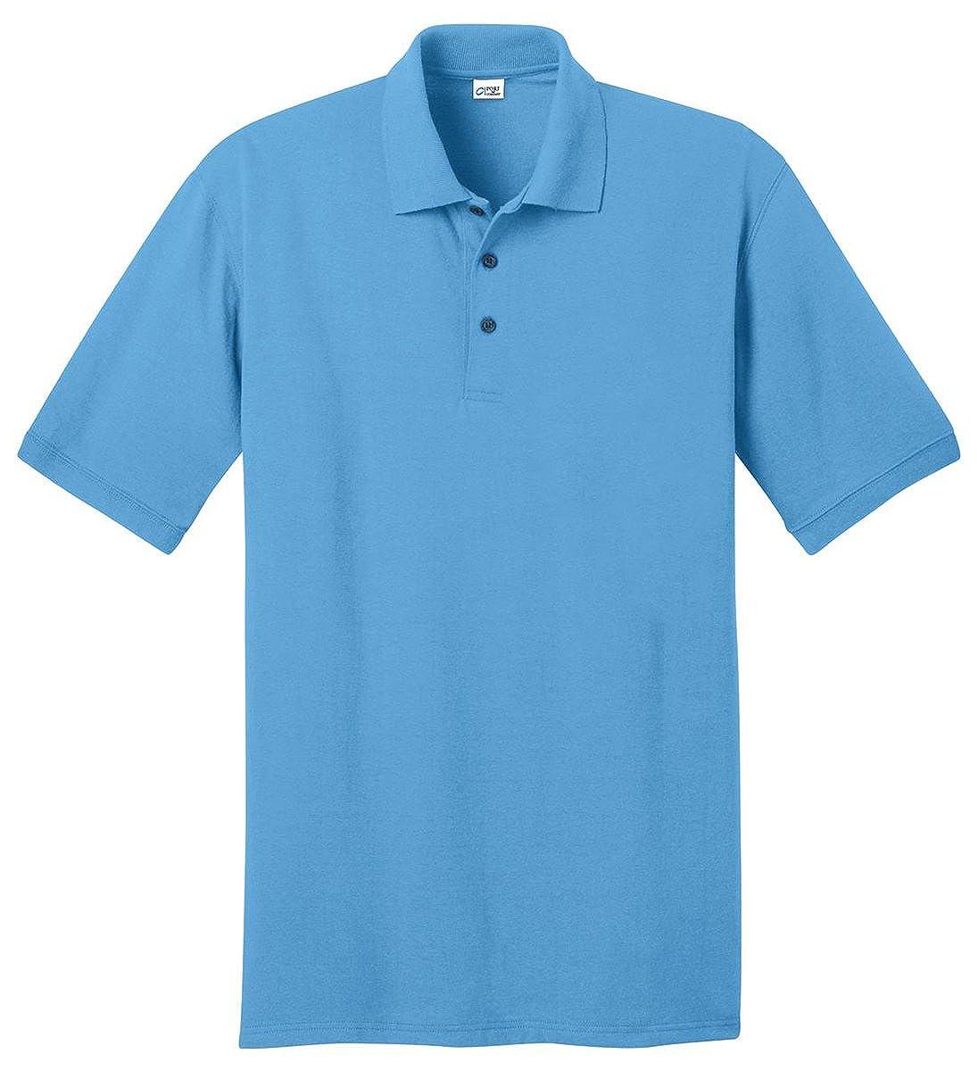 Port /& Company Mens Durable Perfect Pique Polo Shirt/_Aquatic Blue/_XXXX-Large