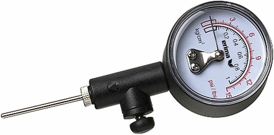 Erima - Medidor de presión para balones de fútbol, color negro y ...