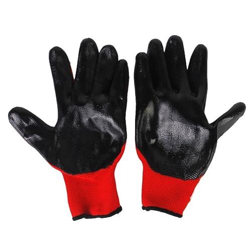 Animal Handling Gloves 35cm Gauntlet Leather Kevlar Dog