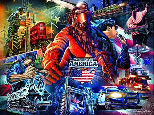 The Backbone of America 1000 Piece Jigsaw Puzzle by SunsOut