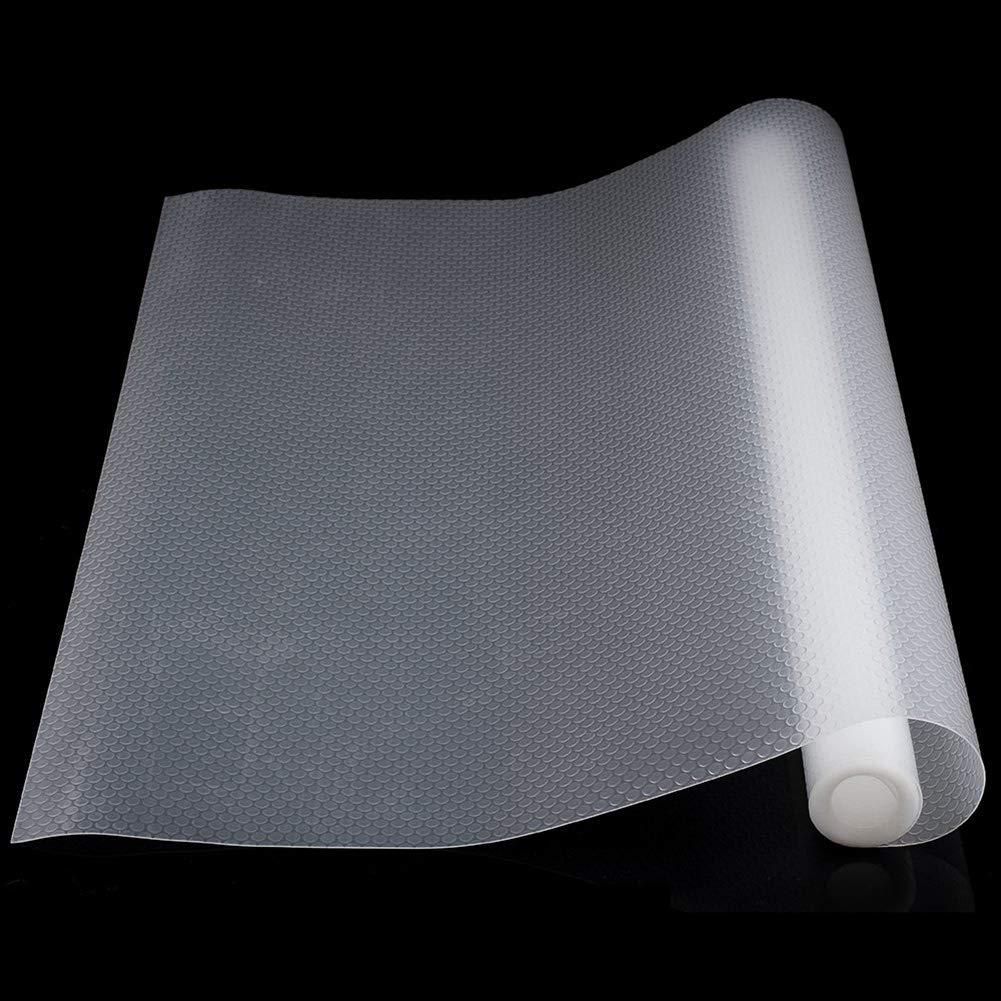 de pl/ástico 150 x 50 cm Juego de 2 esteras de caj/ón Transparentes Antideslizantes para armarios para Cocina o ba/ño Queta