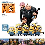 2018 Despicable Me 3 Movie Images Wall Calendar for kids children 2018 CUTE {jg} Best Holiday Gift Ideas - Great for mom, dad, sister, brother, grandparents, grandma, gay, lgbtq.