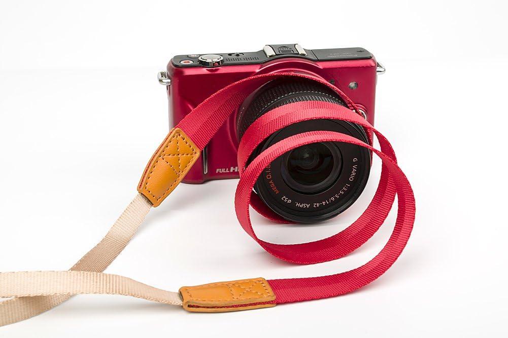 Light Grey MINI GAGA Universal Adjustable Slim Shoulder Sling Neck Strap for All Camera DSLR SLR