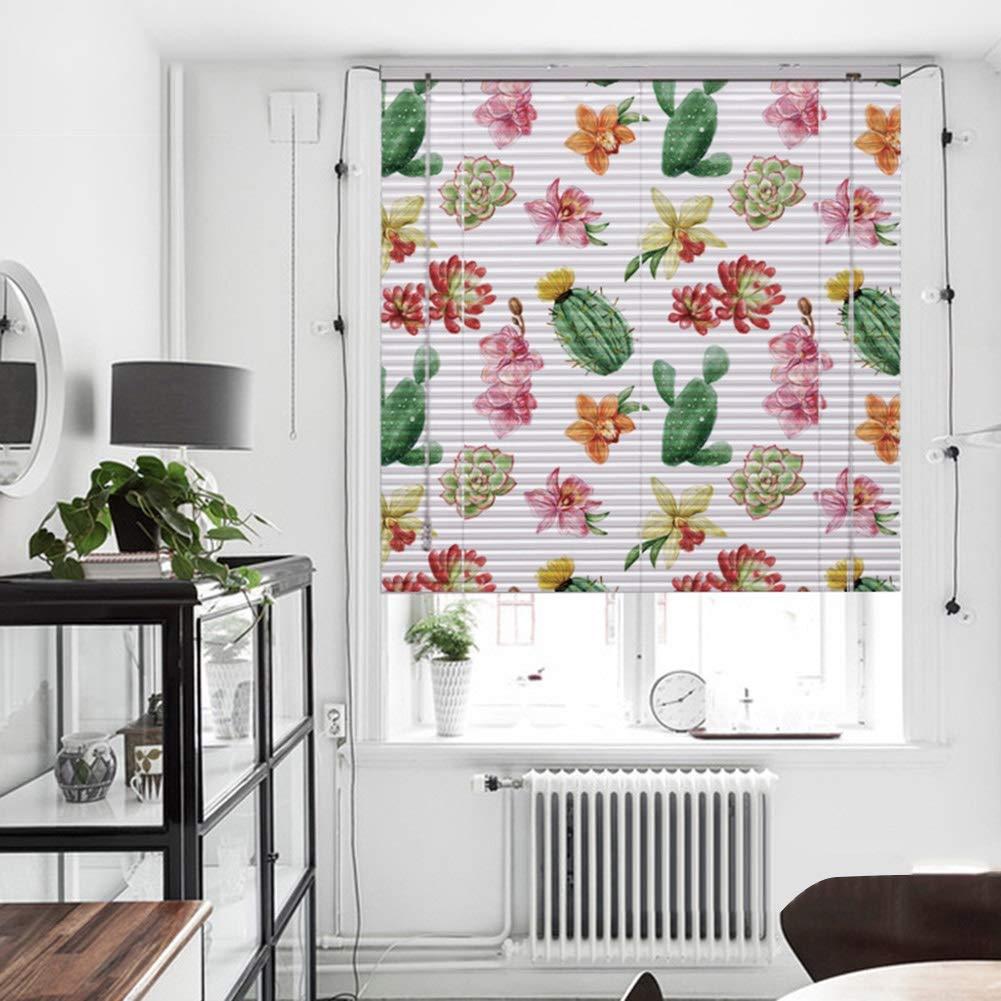 CAIJUN ウィンドウブラインド ローマのカーテン HDプリント アルミニウム 防水 日焼け止め 掃除が簡単 モダニズム、 5色、 カスタムサイズ (Color : E, Size : 100x200cm) B07TH8MK8T E 100x200cm