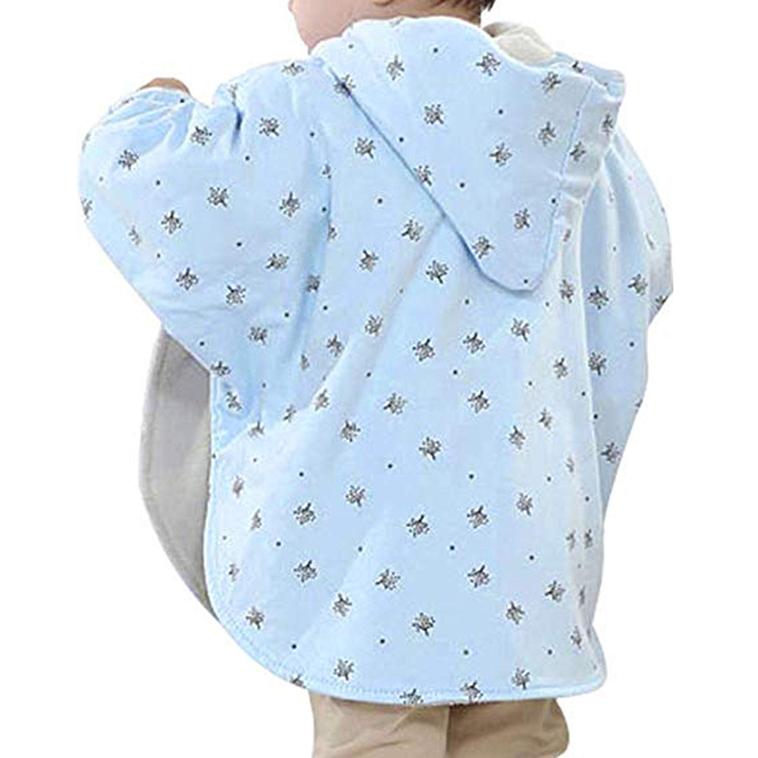 TSWRK Babys Double-Side Wear Cape Coat Snowsuit Warm Poncho for Girls Boys Toddlers