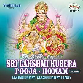 Amazon.com: Sri Lakshmi Kubera Pooja - Homam: T S Rohini