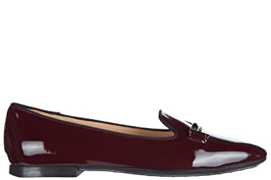 8950e4ce7f9 Tod s Women s Leather Loafers Moccasins 47a Double t Bordeaux US Size 5  XXW47A0V140OW0R805