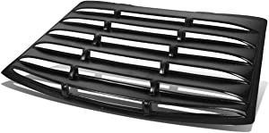 Rear Window ABS Vent Louver Style Windshield Sun Shade Cover Replacement for Ford Mustang Coupe 94-04