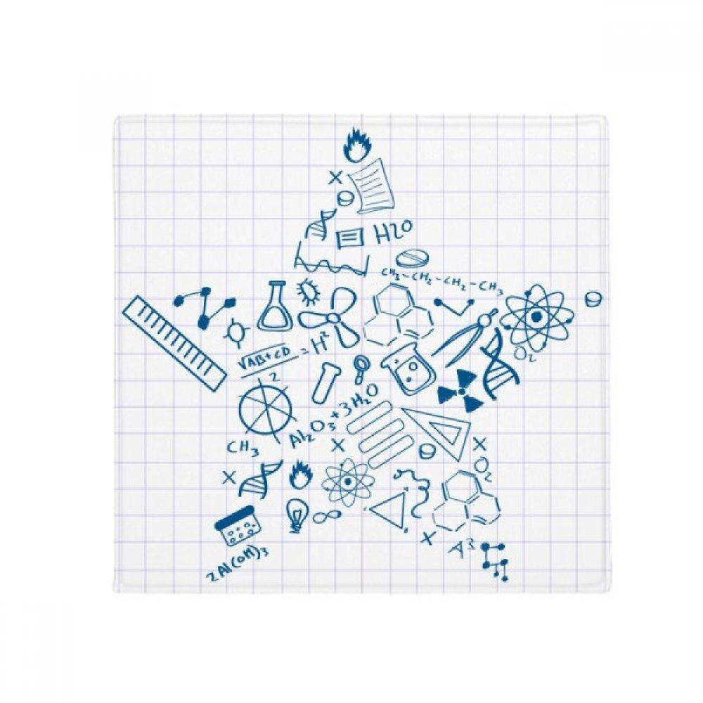DIYthinker Star Strokes Style Physical Chemistry Symbol Anti-Slip Floor Pet Mat Square Home Kitchen Door 80Cm Gift