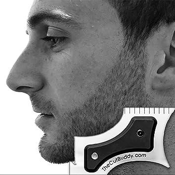 2 Paquetes Hombres Peinado Barba Modelado Plantilla Alto Gradiente Molde De Reparación Del Cabello Corte Lateral Peine De Peinado: Amazon.es: Hogar