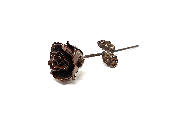 Handgeschmiedet Eisen Schmiede ewige Rose Oxydiert